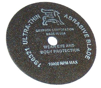08480-Gryphon Abrasive Blade for #08552 Saw
