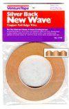 """12780-Venture 5/16"""" Wave Silver Back Foil 1.2 Mil"""