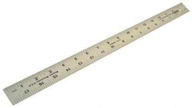 """14700-Aluminum Straight Edge 18""""x1"""""""