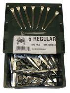 15570-Diamond Horseshoe Nails 100 Ct.