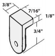16030-Designer Glass Clips 25/Bag
