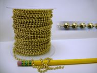 17900-Ball Chain Solid Brass 100' Spool