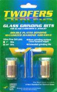 """11972-Twofers Ultra Fine Grit 3/4"""" Diamond Bits"""