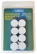 12802-Adhesive Magnet Rounds