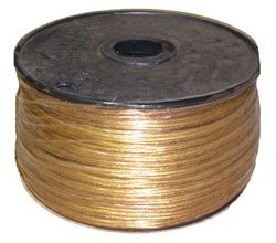 36500-Electrical Wire 250' Spool (Clear Gold) SALE!