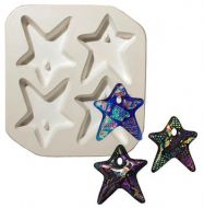 47190-Holey Star Quad Mold ---SALE!