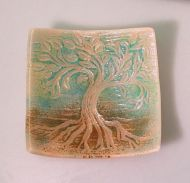 47198-Sm. Tree of Life Texture Mold ---SALE!