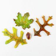 47370-Leaves & Acorn Casting Mold 8