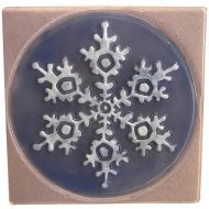 47381-Snowflake in Square Texture Mold 10
