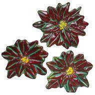 47383-Poinsettia Ornaments Mold 8.5