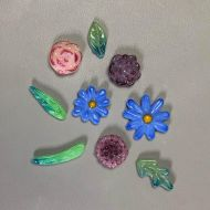 47397-Small Flowers & Leaves Mold
