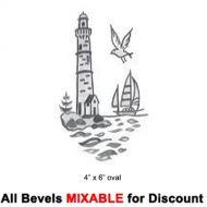 60654-Oval Carved Lighthouse 4