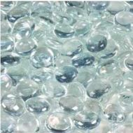 60803-Irid. Med. Metallic Clear Nuggets