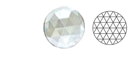 62411-Value 50MM Clear Round 54 Facets