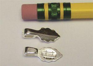 63070-Aanraku Sm.Leaf Bails Silver