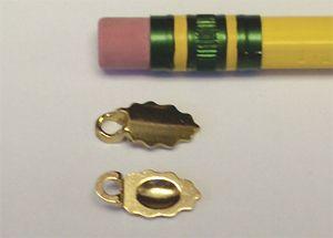 63141-Aanraku Leaf Earring Bails 18kt Gold