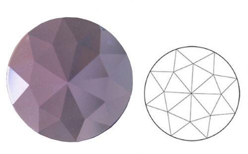 62380-20MM Neodymium Pink Round 30 Facets