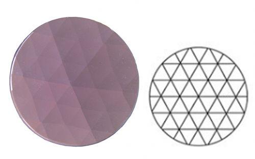 62382-30MM Neodymium Pink Round 54 Facets