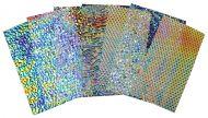 74568-1/2# Tie Dye Scrap Thin Wissmach Clear 90 Austin