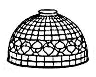 "8102-10"" Acorn Open Top Mold & Pattern"