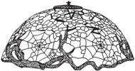 "8150-18"" Cobweb & Apple Blossom Mold & Pattern"