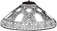 "8164-20"" Russian Cone Mold & Pattern"