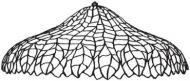 """8184-24"""" Pleated Leaf Mold & Pattern"""