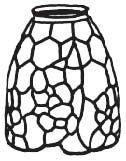 """8210-4.5"""" Apple Blossom Mold & Pattern"""