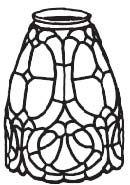 "8211- 4.5"" Renaissance Mold & Pattern"