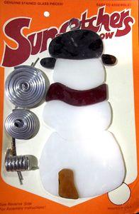 92016-Snowman Suncatcher