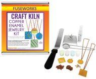 43804-Copper Enamel Jewelry Kit