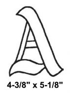 BLA-Bevel Letter A