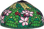B2414-Lei Flower Lamp W Pattern