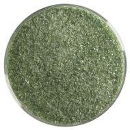 BU114191F-Frit Fine Olive Green Trans. 1# Jar
