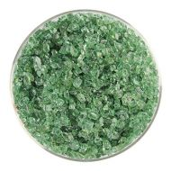 BU124793F-Frit Coarse Light Medieval Green 1# Jar