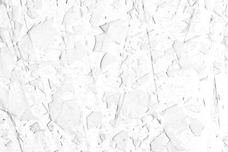 BU4113F-WINTER: White w/Clear Streamers On Clear