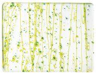 BU4212F-Dark Green/Spring Green Frit/Green Streamers