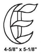 BLE-Bevel Letter E