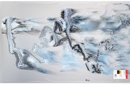 BU3100GRF-Clear/White/Black Graffitti