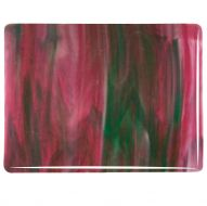 BU3345F-Cranberry Pink/Emerald Green/White Streaky (Double Rolled)