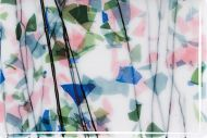 BU4010F-SPRING: Blue/Green/Aqua/Pink On White