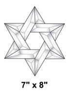 EC210-Exquisite Cluster Star of David