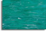 S82392-Teal Green/White Wispy