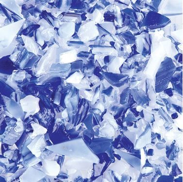 UF5103-Frit 96 Coarse Cobalt Blue/White #4245