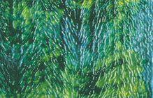U5015-24x15 Emerald/Chartreuse/Turq.Grn.Herringbone Granite Rip.