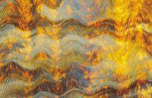 U50912-24x15 Butterscotch & Coffee Herringbone Granite Ripple