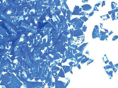 UF5046-Frit 96 Coarse Medium Blue Opal  #2302