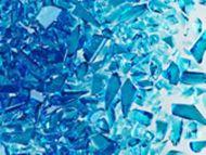 UF5099-Frit 96 Coarse Blue Topaz Trans. #5332