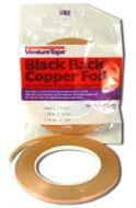 """12730-Venture 3/16"""" Black Back Foil 1.25 Mil"""
