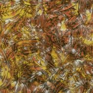 "VG0089A-Van Gogh Copper/Gold/ Silver 24""x36"""